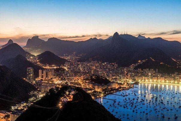 Ночь в Рио-де-Жанейро, Бразилия