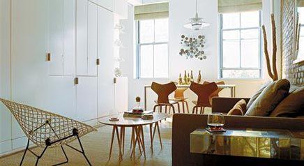 25 beste idee n over kleine appartementen op pinterest studio appartementen kleine ruimte - Decoratie klein appartement ...