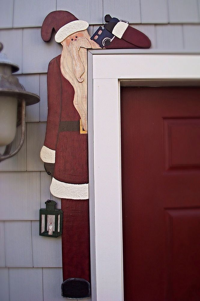 """CHRISTMAS/HOLIDAY PRIMITIVE WOOD CRAFT PATTERN-""""NICK""""-40 INCHES"""