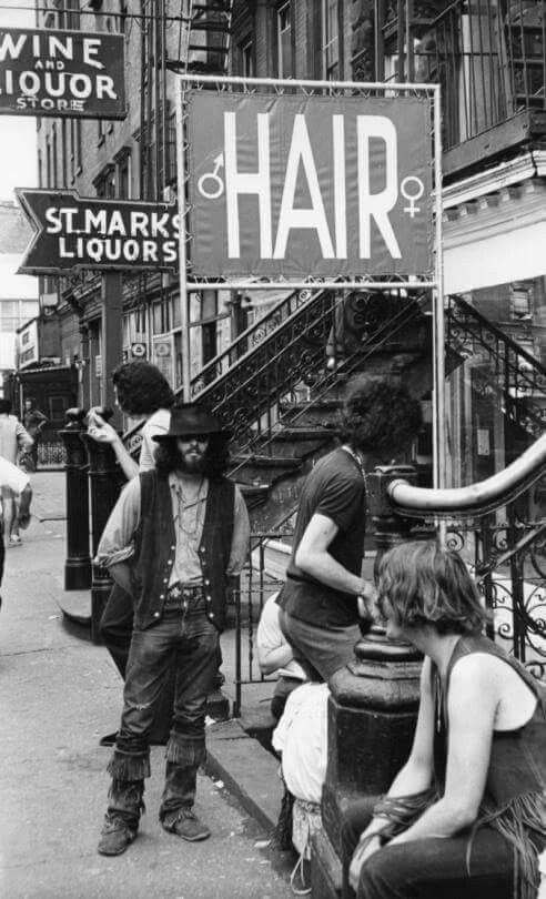 St Mark's Place NYC - 1969