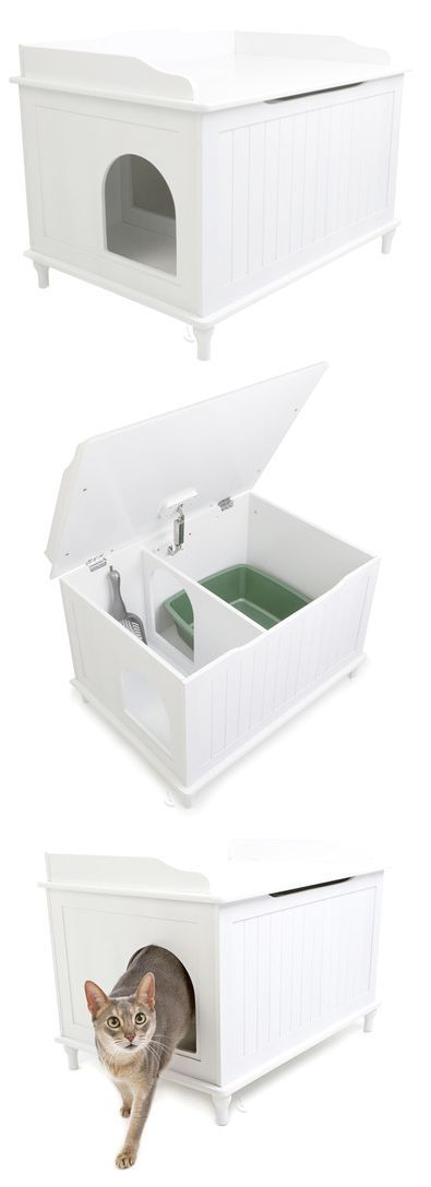 Modern kitty litter box- for when I finally have a kitty.