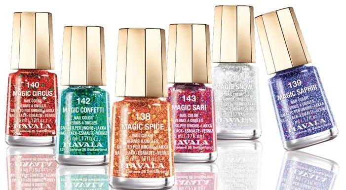 Vernis de fêtes avec les Mini color's Mavala