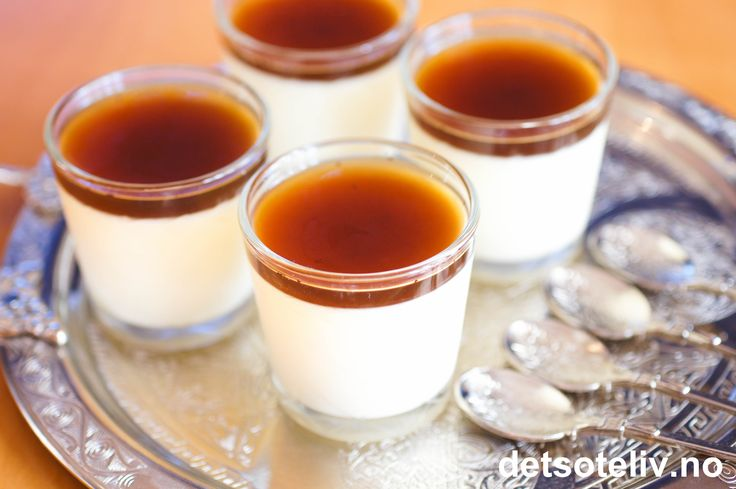 Panna cotta som søt avslutning på en bedre middag slår aldri feil! Panna cotta kan lages i utallige varianter og du finner flere forslag her på Det søte liv. Denne varianten smaker mildt av vanilje og sitron og dekkes med et tynt lag hjemmelaget madeiragelé. Jeg synes denne varianten av Panna cotta passer spesielt godt servert i små porsjoner etter litt tunge høst- og julemiddager. Madeira er en deilig sterkvin som stammer fra den vakre, portugisiske ferieøya Madeira, og jeg fikk en…