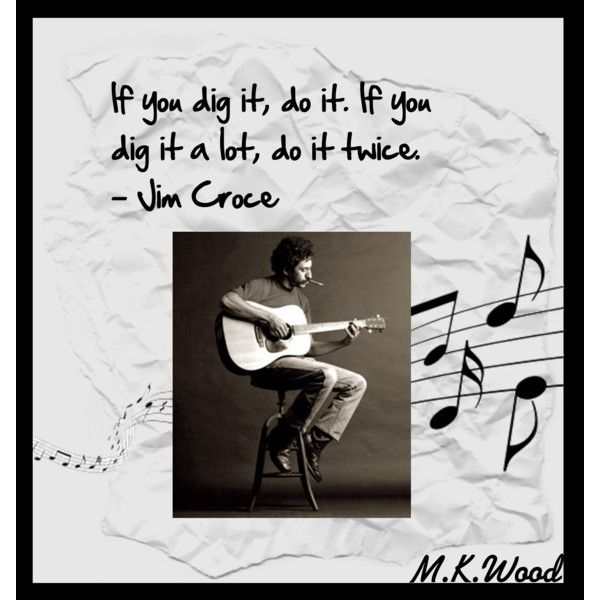 Jim Croce, created by #woodiesgirl on #polyvore. #art jim croce dig it