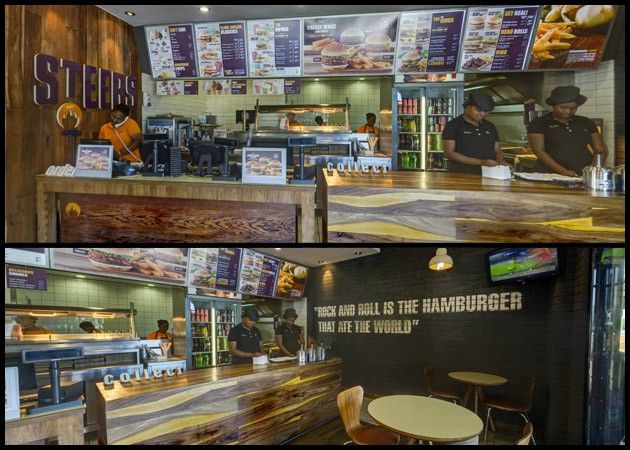 Check out the great Virtual Tour listing of Steers in Vanderbijlpark! There comes a time when cooking is just not on the list of to do's....  And that is when it is time to pop by Steers for some fantastic Food! Visit their Virtual Tour Listings on BizListings and have a look at the great menu they have to offer! Just follow this link to their Virtual Tour Listings: http://bizlistings.co.za/city/vaal/virtual_tour/steers-vanderbijlpark/