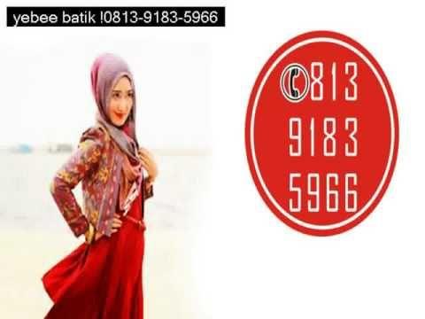 Jual baju batik ibu dan anak, Hub 0813 9183 5966