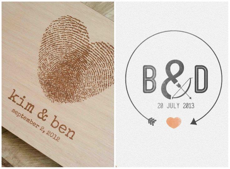 Questione di dettagli: come creare il logo degli sposi