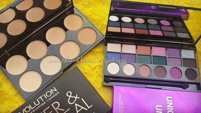 This brand @makeuprevolutionindia has took my heart away, so pigmented yet so reasonable! Loved it! #glamchica #makeuptutorial #excitedmuch #indianmakeupblogger #willtrynewlooks #eyeshadow