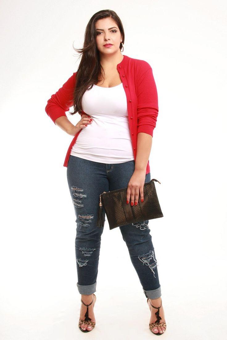 Plus size Kauê _Winter 2015 Jeans Fashion