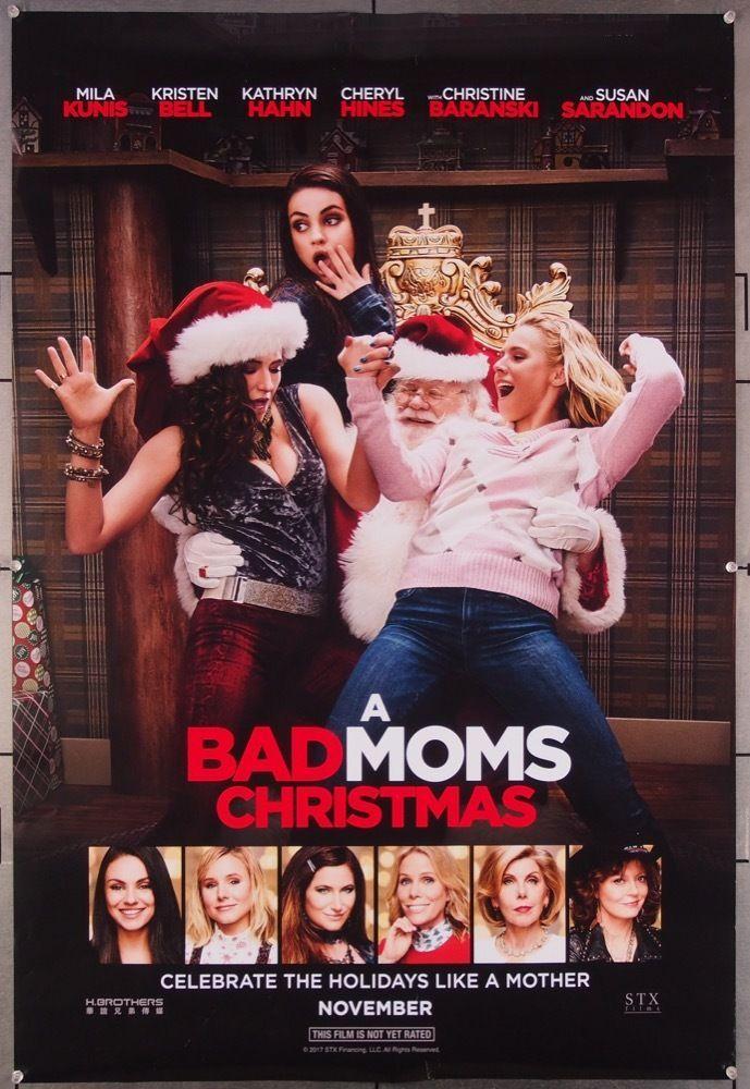 MovieArt Original Film Posters BAD MOMS CHRISTMAS A (2017