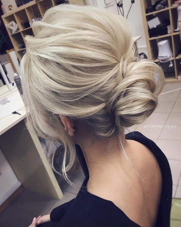 simple but elegant updo wedding hairstyle #weddingupdosforlonghair