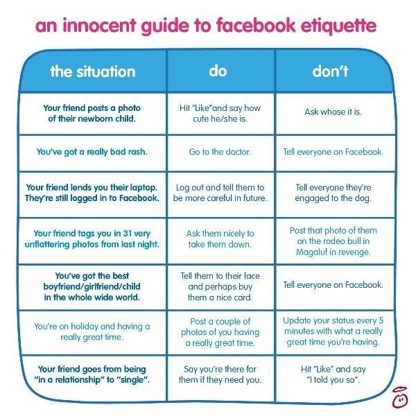Innocent facebook