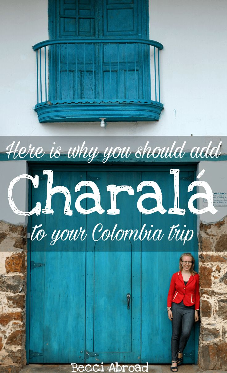 Visit Charalá in the region of Santander and get an authentic village experience with Colombian independence war, expreme sport and a lot more.