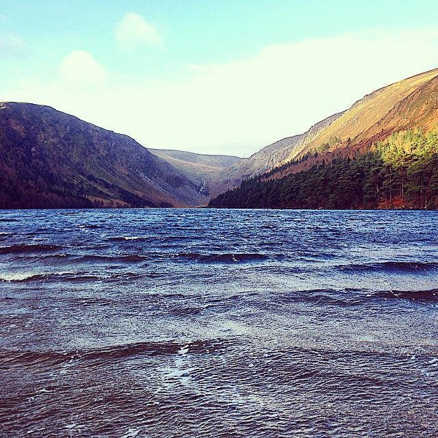 #LoughTay #excalibur #glendalough #wicklow #Ireland