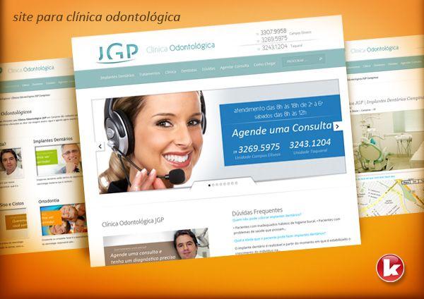 site para clínica odontológica