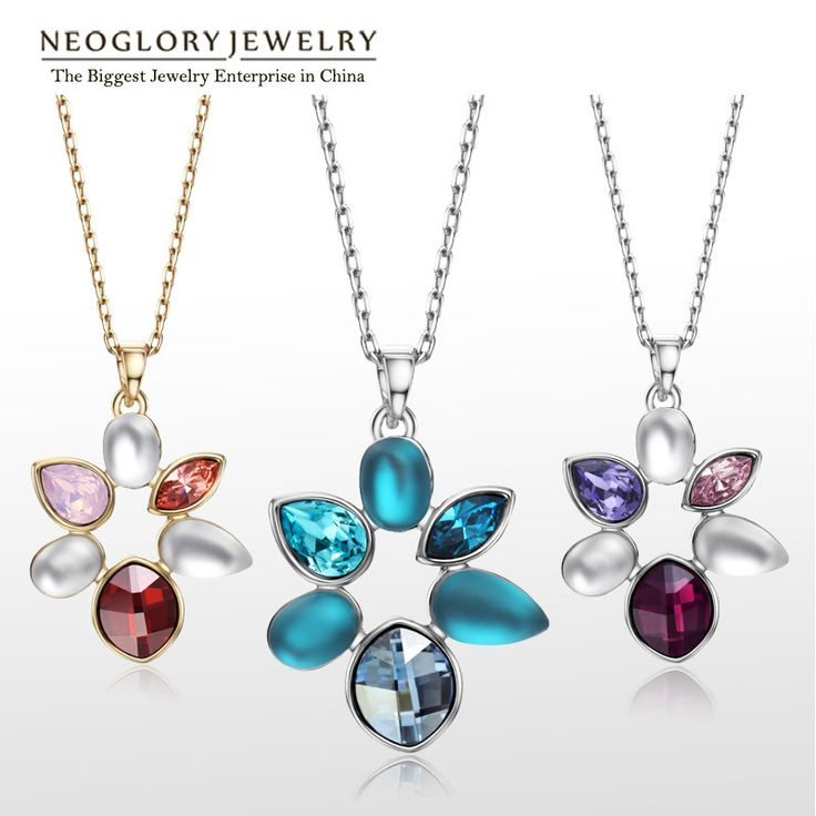 Rhinestone Flower Enamel Long Chains Necklaces Pendants for Women Gold Plated Fashion Jewelry Brand  New LN1 ENA1 Who like it ? http://www.lolfashion.net/product/neoglory-rhinestone-flower-enamel-long-chains-necklaces-pendants-for-women-gold-plated-fashion-jewelry-brand-2016-new-ln1-ena1/ #Jewelry #shop #beauty #Woman's fashion #Products