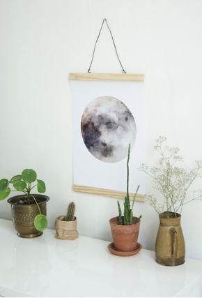 DIY : Posterhanger zelf maken - Siefshome