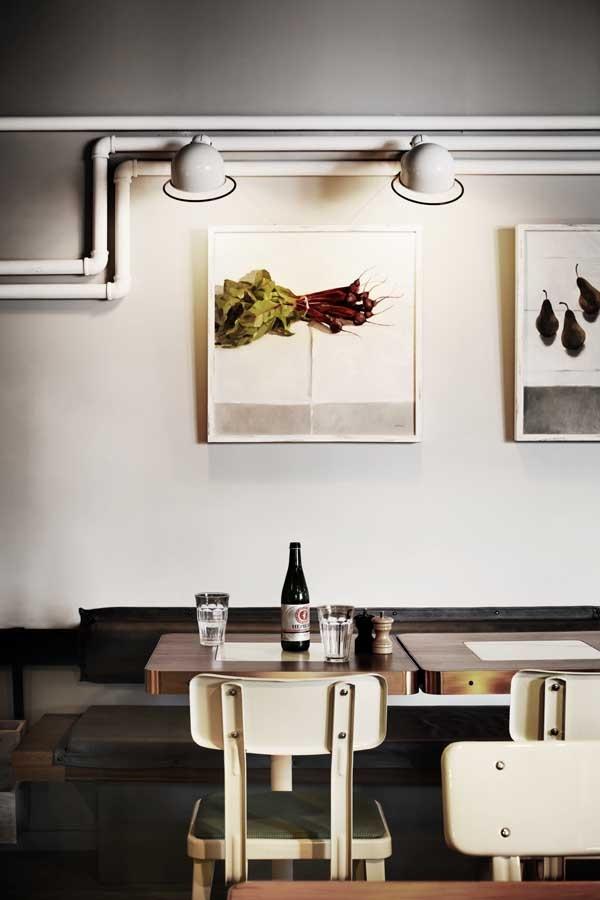 Industrial elegance. Mopho Noodle Bar #interiors #restaurant #rustic