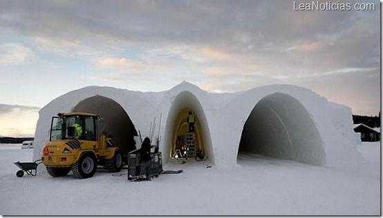 El hotel de hielo que se construye cada año en Suecia en su máximo esplendor - http://www.leanoticias.com/2012/12/27/el-hotel-de-hielo-que-se-construye-cada-ano-en-suecia-en-su-maximo-esplendor/