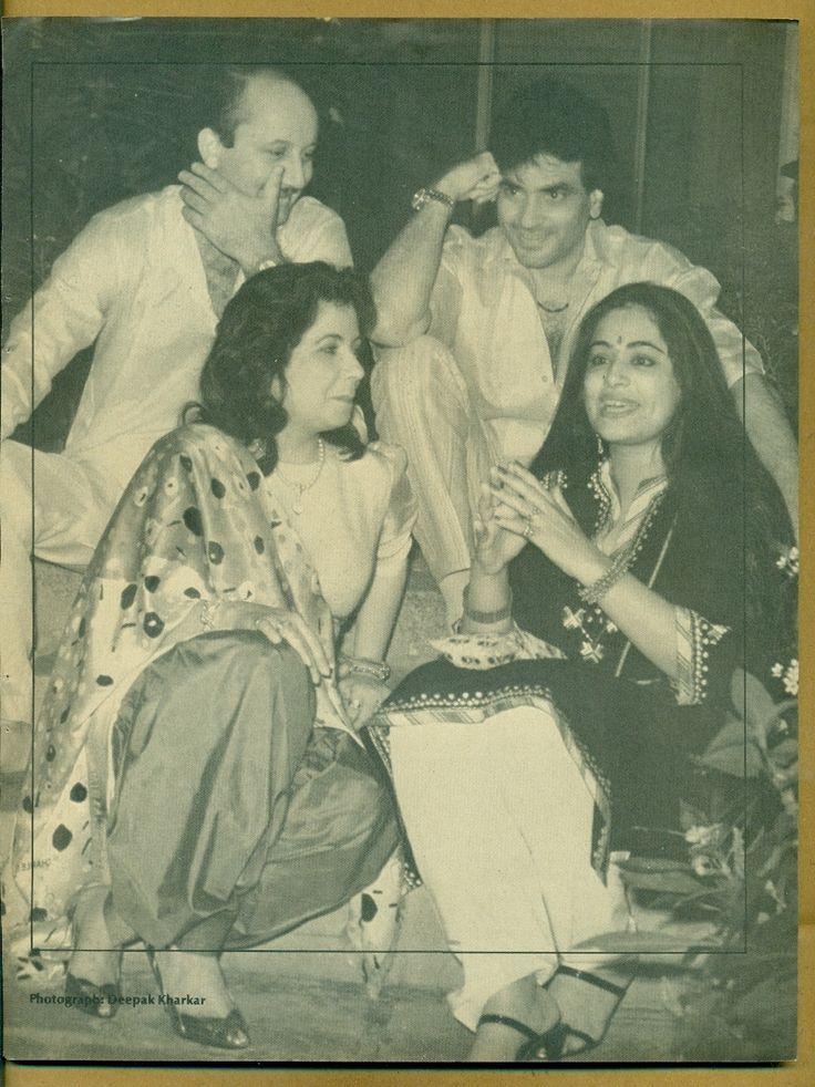 Anupam Kher, Jeetendra, Sobha Kapoor, Kirron Kher