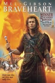 BRAVEHEART es una película estadounidense histórica-dramática de 1995 dirigida, producida y protagonizada por Mel Gibson. La cinta épica, basada en la vida de William Wallace, un héroe nacional escocés que participó en la Primera Guerra de Independencia de Escocia,