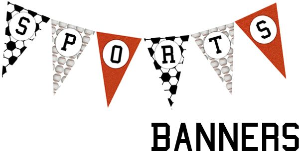 Free printable soccer banner