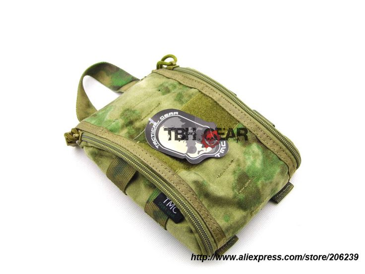 TMC Trauma Kit Pouch MOLLE A-TACS FG Camo Pouch Tactical Medical Pouch+Free shipping(SKU12050749)