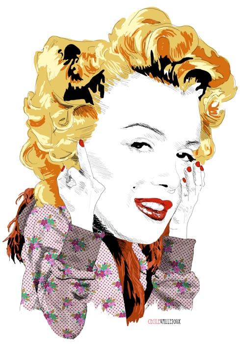 Modern Marilyn | La Belette Rose