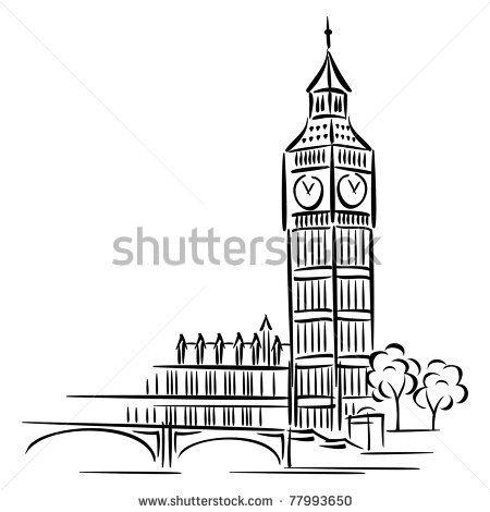 vector images of Big Ben in London by valeriya_sh, via Shutterstock