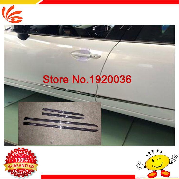 Car styling Chrome Body Side Door Trim Molding Exterior cover for MAZDA 6 ATENZA 2014 Door Side Molding Trim Side Door Trim #Affiliate