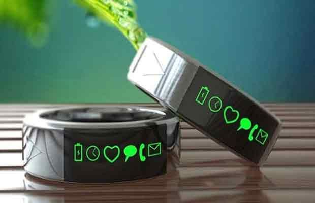 Smarty Ring – Un dispositif portable pour accéder à distance aux mises à jour de votre téléphone