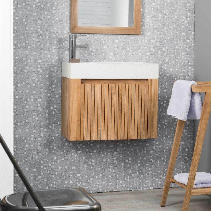 1000 id es sur le th me meuble lave main sur pinterest for Meuble pratique pour petit espace