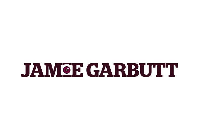 Logo created for the photographer Jamie Garbutt. #design #logo