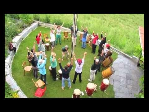 Rhythmische Gruppenspiele - Workshop - YouTube
