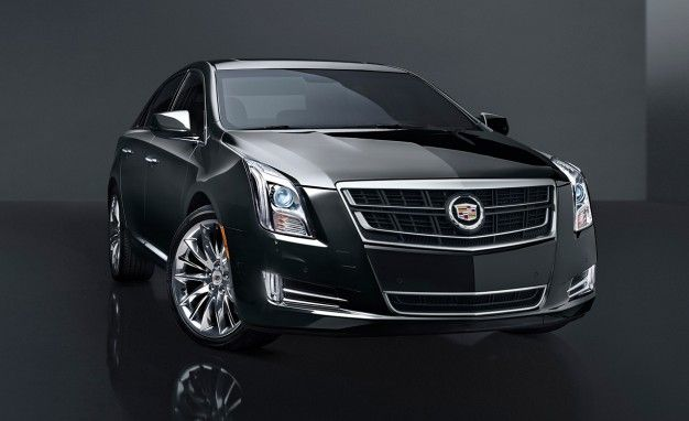 Cadillac twin-turbo charged V6 CTS from the 2014 Line-up.