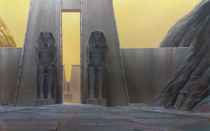 Nathan Fowkes Art: The Prince of Egypt