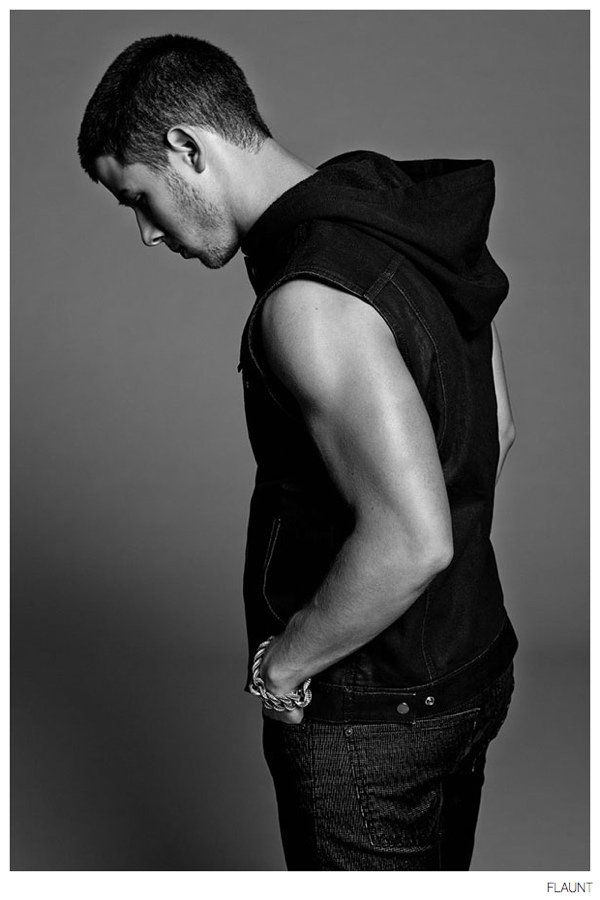 See More Images from Nick Jonas Flaunt Cover Shoot image Nick Jonas Flaunt 2014 Photo Shoot 005