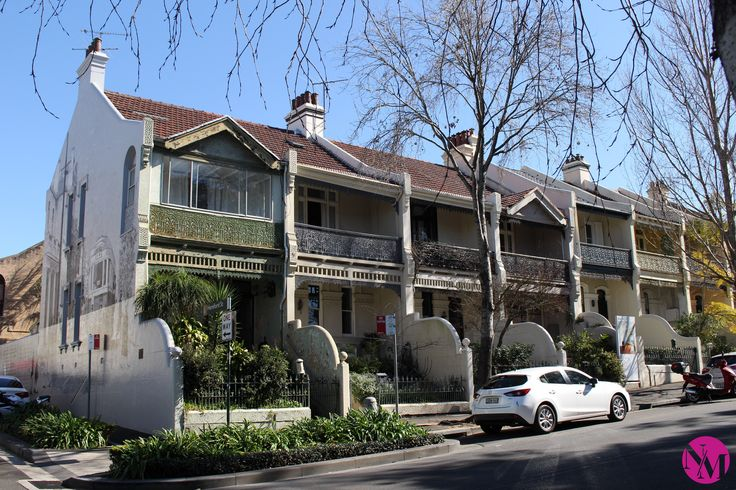Glebe Sydney by Noni May Australia Travel Guide Victorian houses