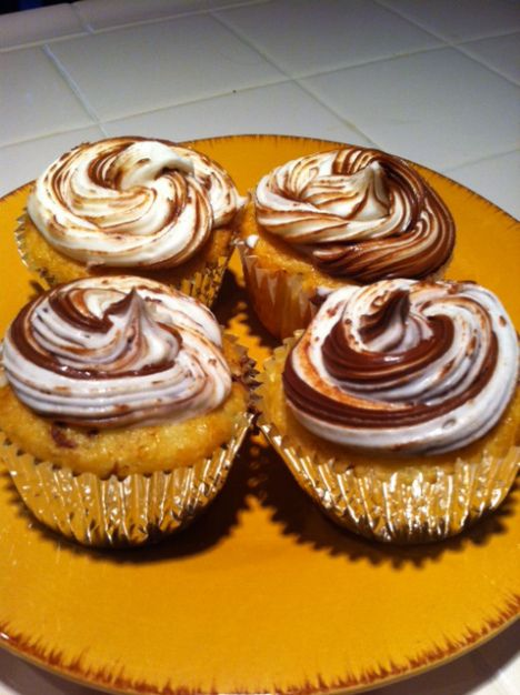 Simple and Delicious Nutella Cupcakes