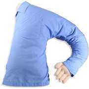 A boyfriend pillow.  How funny.