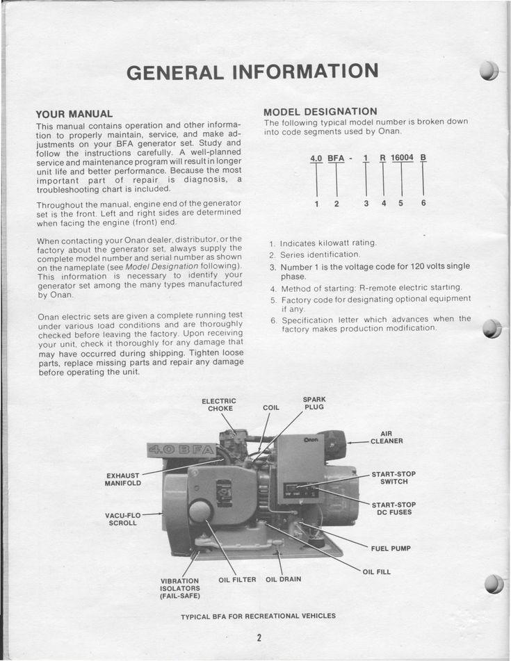 Wiring Diagram Onan 4 0 Generator Best 1983 Fleetwood Pace ...