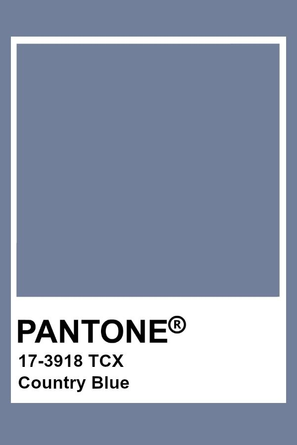 Country Blue Pantone Color Grey Serenity Cashmere Colors
