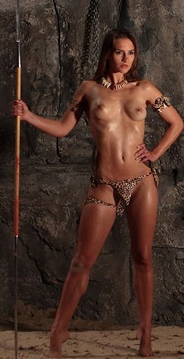 Amusing piece Amazon warrior nude