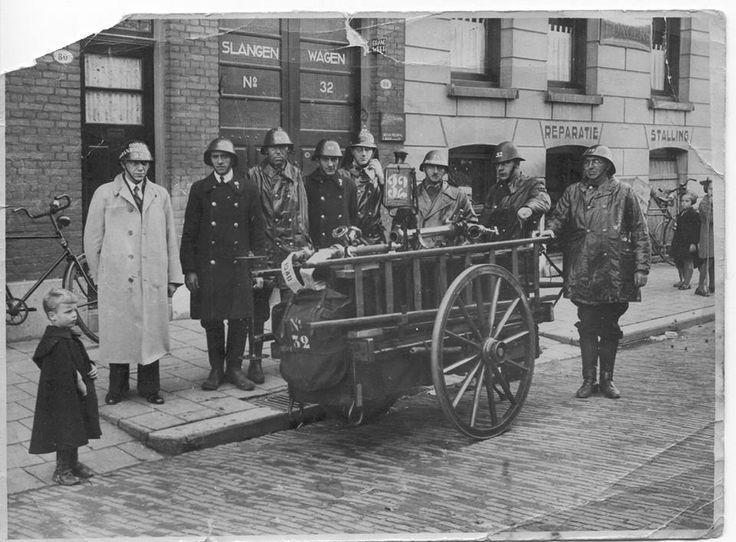brandweer volmarijnstraat 1946