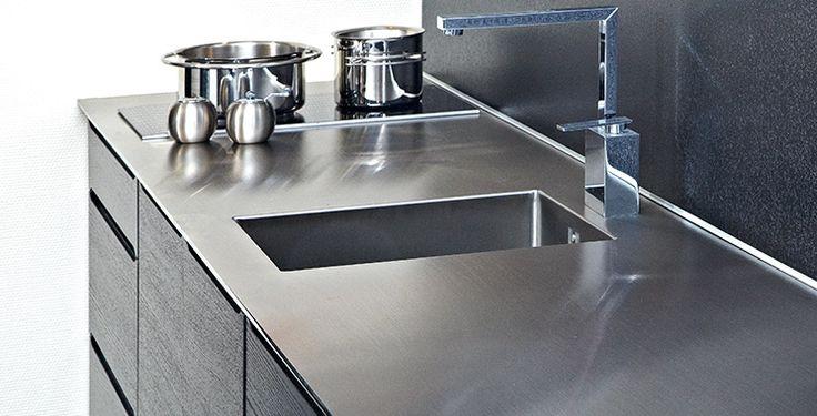 Skræddersyede bordplader - PFP leverandør af bordplader - Stål