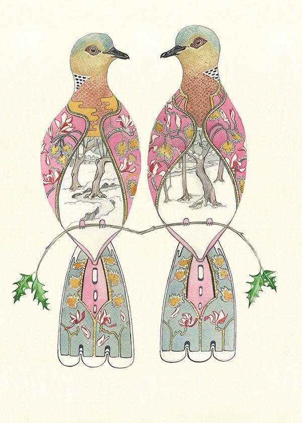Pretty Two Turtle Doves | turtle doves… | per mare...