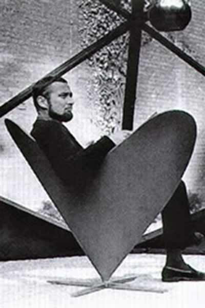 Verner Paton in a chair of his design. Verner Panton (13 February 1926 – 5 September 1998) is considered one of Denmark's most influential 20th-century furniture and interior designers. During his career, he created innovative and futuristic designs in a variety of materials, especially plastics, and in vibrant and exotic colors.
