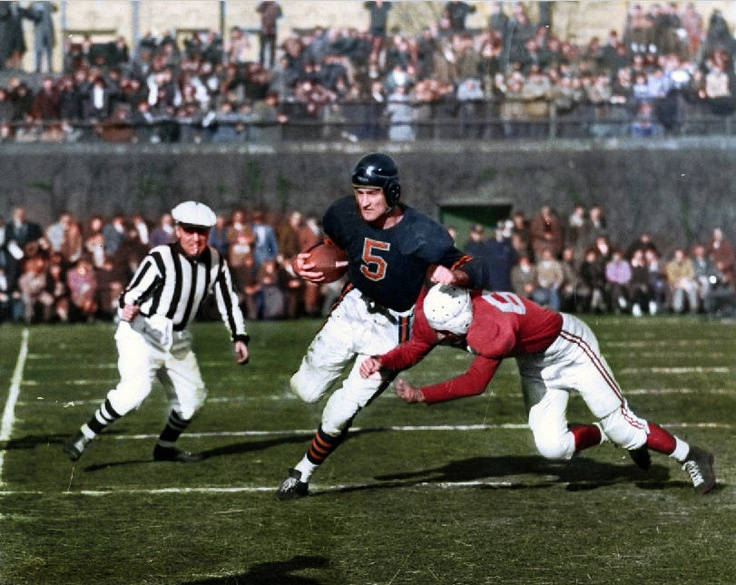 Chicago Bears vs Chicago Cardinals.  I was born and raised on the Southside and was a pure Cardinals fan...after their desertion, it took me a loooong time to switch to the Bears.