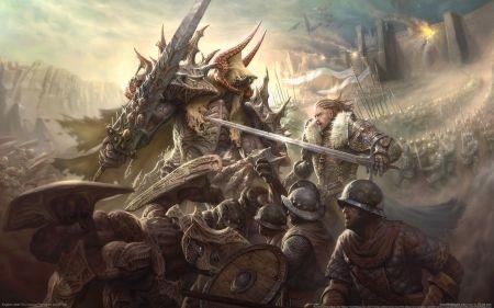 the battle - soldier, battle, warrior, man, shield