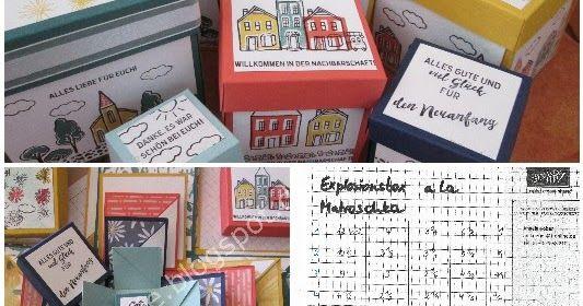 Stempeln, Stanzen, Prägen - Stampin' Up! Produkte und kreative Ideen für Grußkarten, Scrapbooking, Dekos und Verpackungen